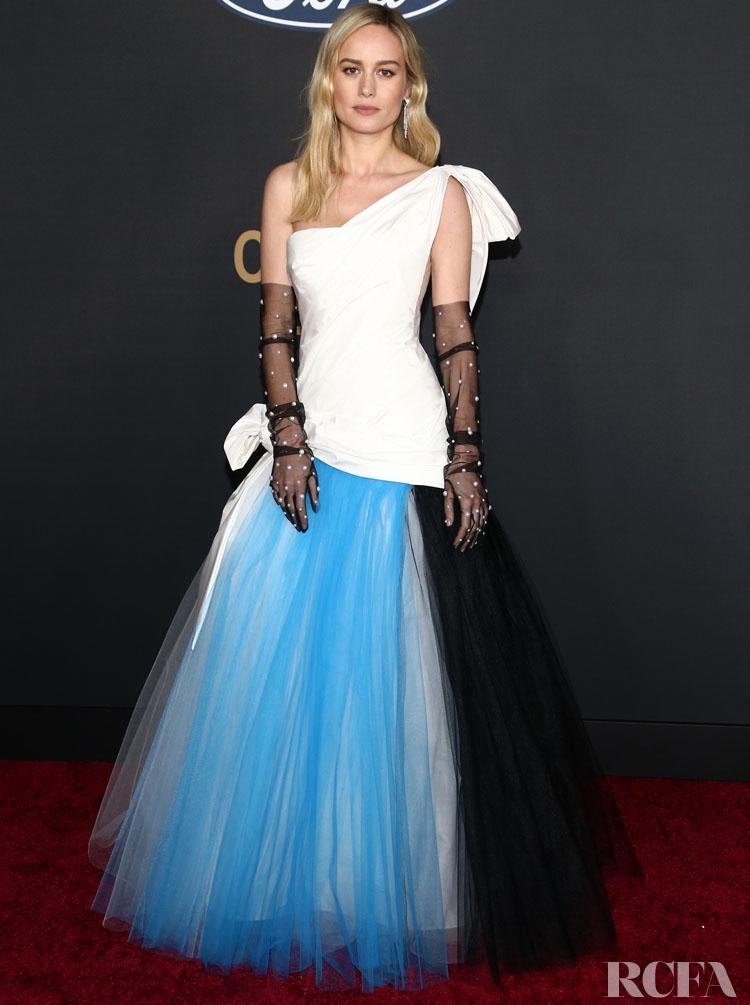 Brie Larson Wore Rodarte To The 2020 NAACP Image Awards