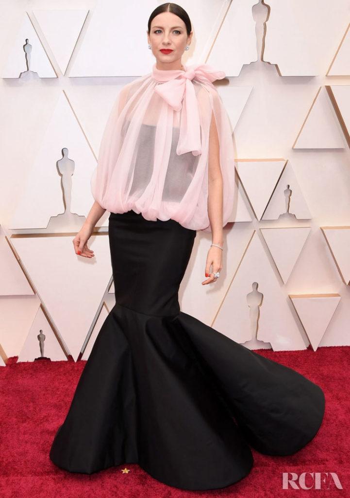 Caitriona Balfe In Valentino Haute Couture - 2020 Oscars