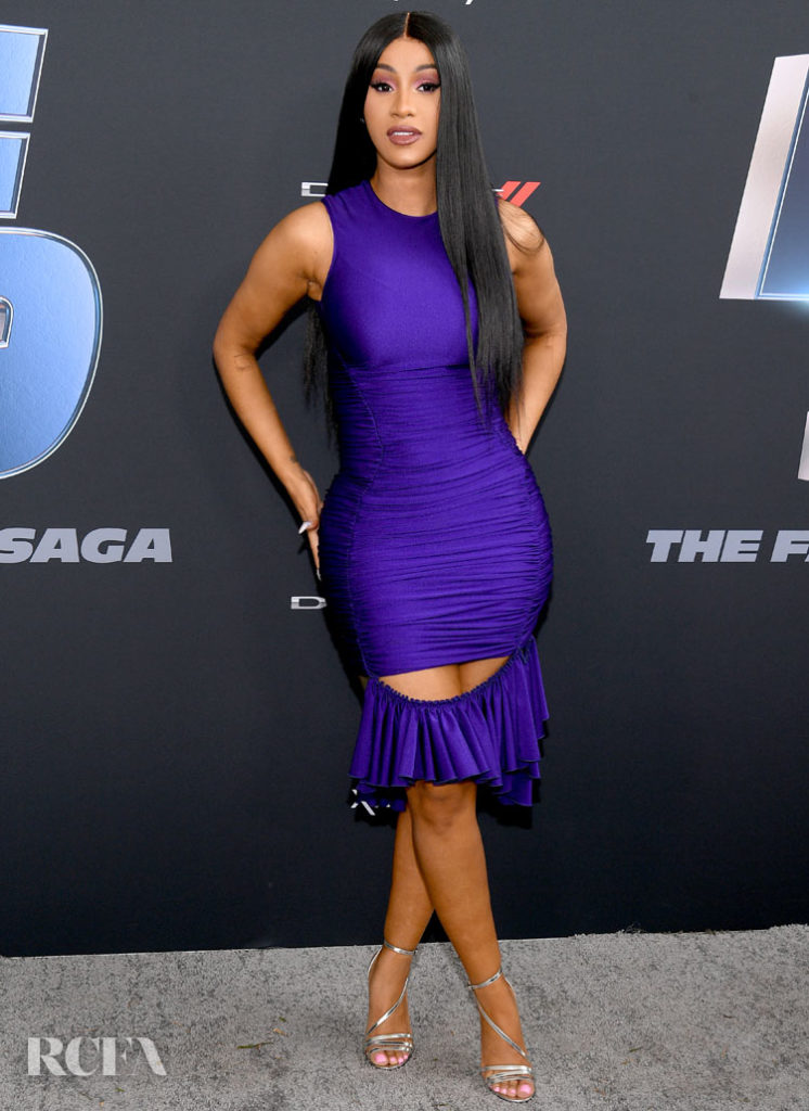Cardi B Wore Mugler To 'The Road to F9' Global Fan Extravaganza