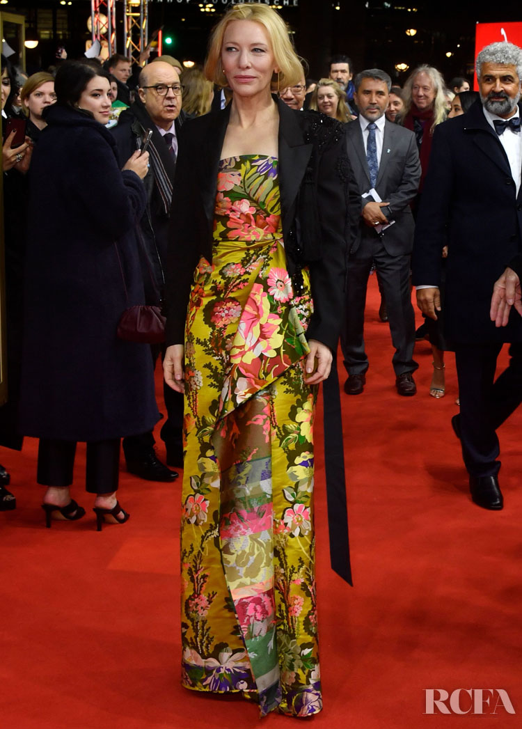Cate Blanchett Wore Dries van Noten To The 'Stateless' Berlinale Film Festival Premiere