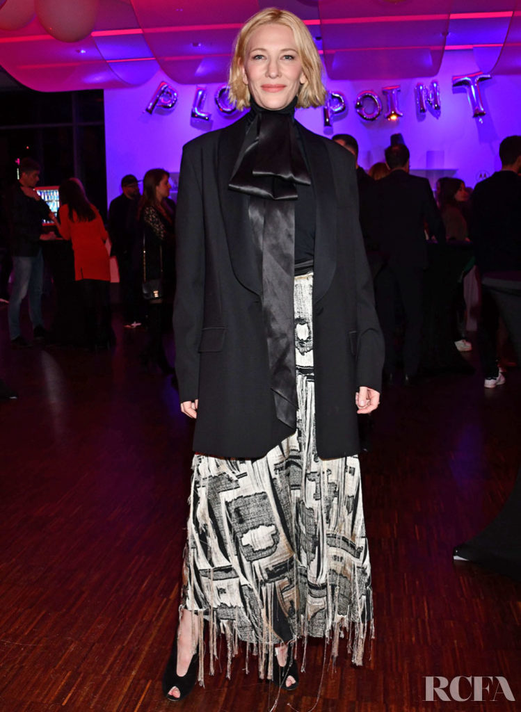 Cate Blanchett Wore Roksanda To The Plot Point Berlinale Party