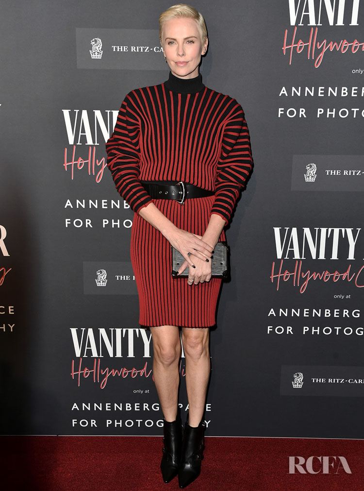Charlize Theron Wore Louis Vuitton To The Vanity Fair: Hollywood Calling Opening