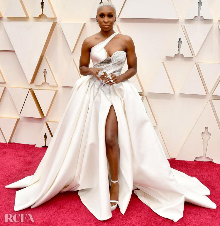 Cynthia Erivo In Atelier Versace - 2020 Oscars