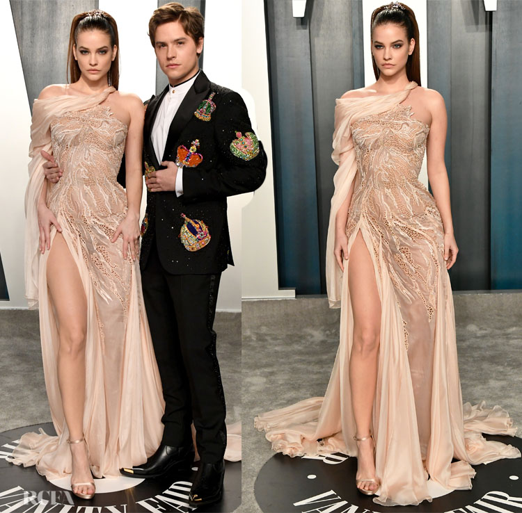 in Atelier Versace - 020 Vanity Fair Oscar Party
