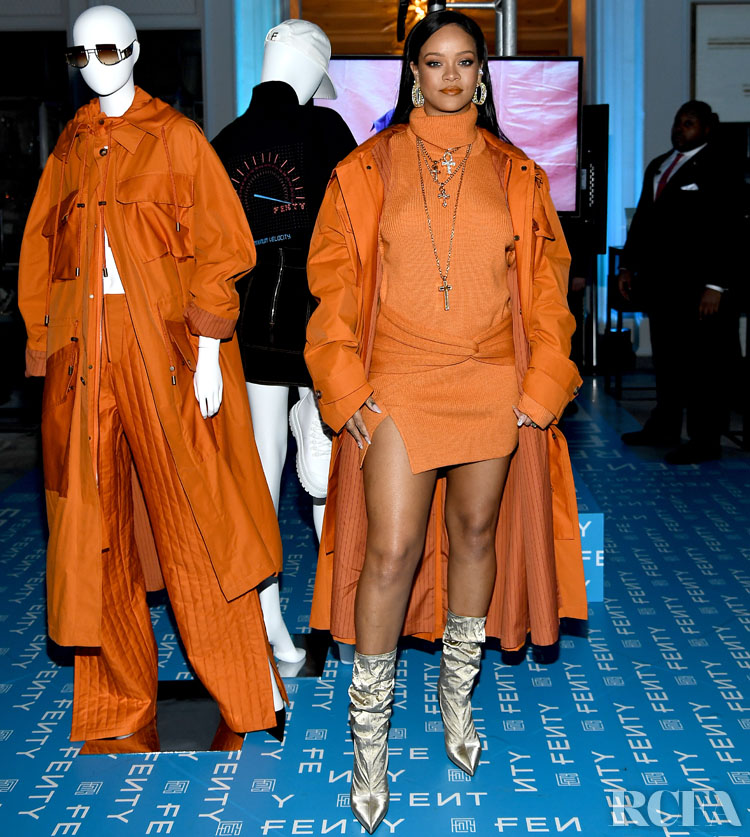 Fenty x Bergdorf Goodman Launch Celebration with Rihanna