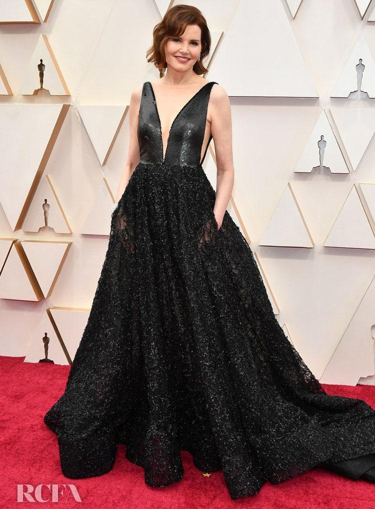 Geena Davis In Romona Keveža - 2020 Oscars