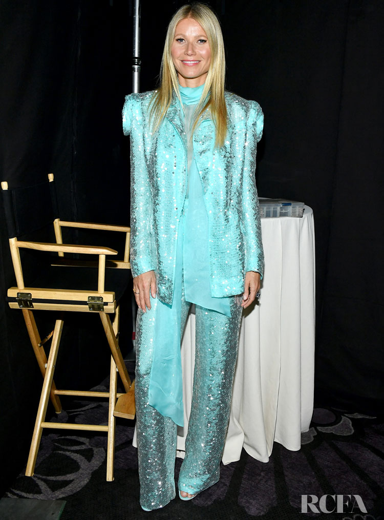 Gwyneth Paltrow Wore Ralph & Russo Couture To The  2020 Writers Guild Awards West Coast Ceremony