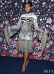 Janelle Monáe Wore Jean Paul Gaultier Haute Couture To The Harper's Bazaar Exhibition