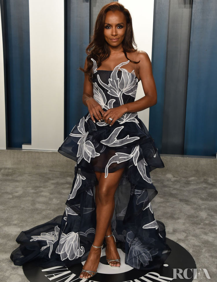 Janet Mock Oscar de la Renta The 2020 Vanity Fair Oscar Party