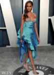 Schiaparelli Haute Couture @ The 2020 Vanity Fair Oscar Party