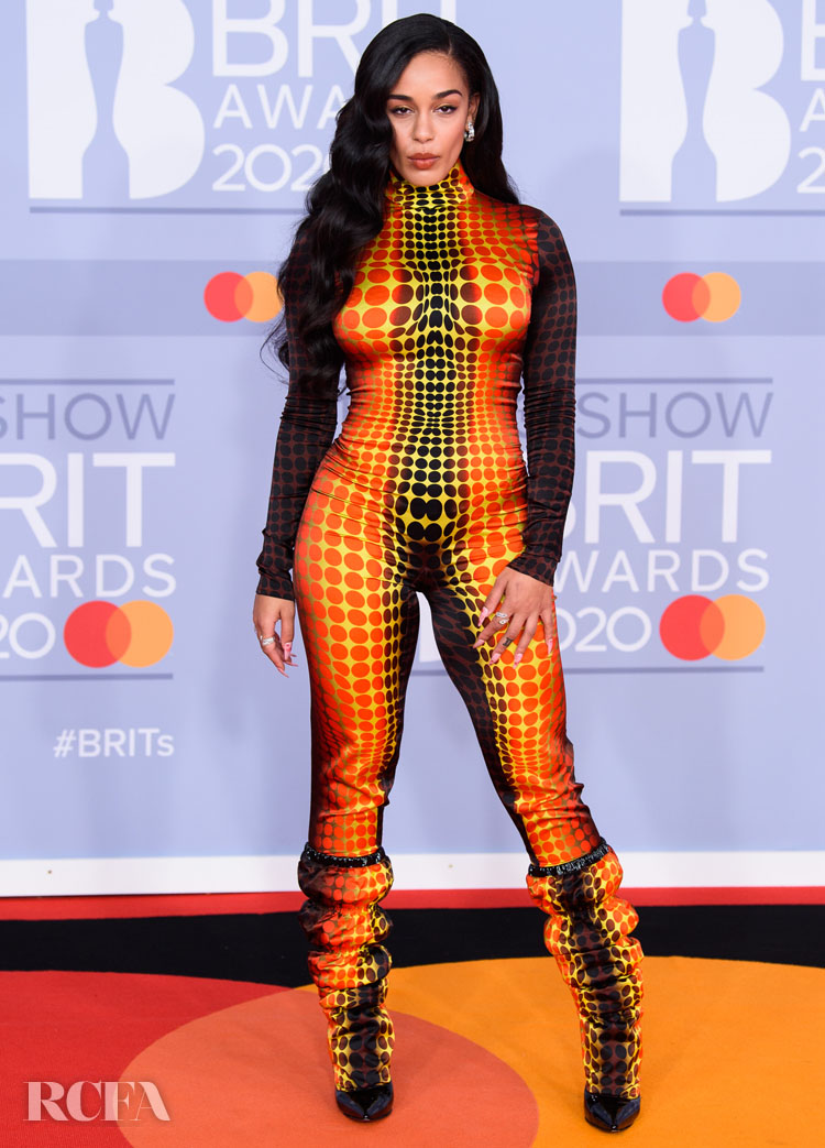 Jorja Smith In Jean Paul Gaultier Haute Couture - The BRIT Awards 2020
