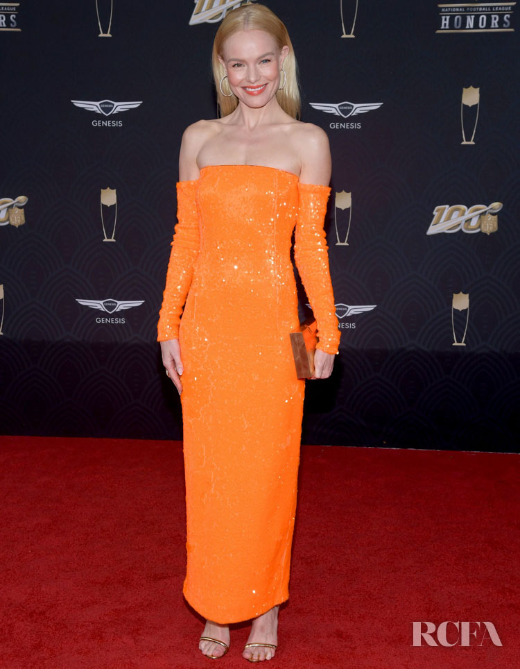 Kate Bosworth Wore Sally LaPointe To The 9th Annual NFL Honors