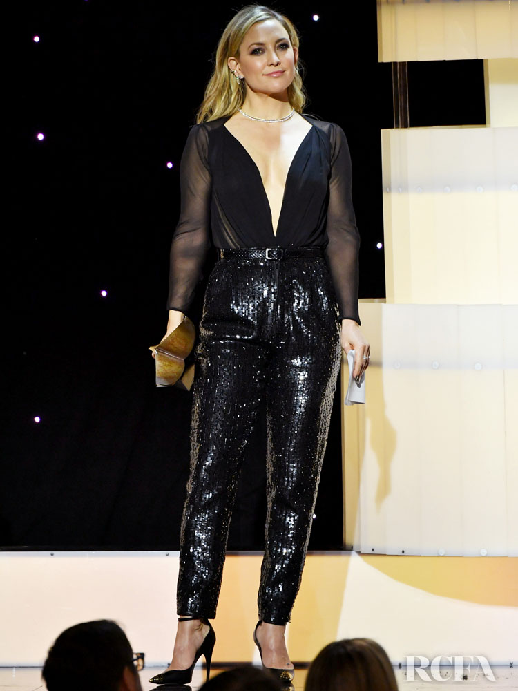 Kate Hudson Wore Saint Laurent To The 2020 Writers Guild Awards