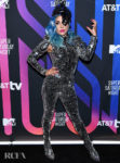 Lady Gaga Recycles Her Tom Ford Catsuit For AT&T's TV Super Saturday Night