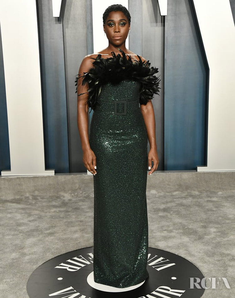 Lashana Lynch in Michael Kors Collection The 2020 Vanity Fair Oscar Party