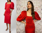 Lily Aldridge's Johanna Ortiz Forgotten Virtues Dress