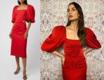 Lily Aldridge's Johanna Ortiz Forgotten Virtues Dress