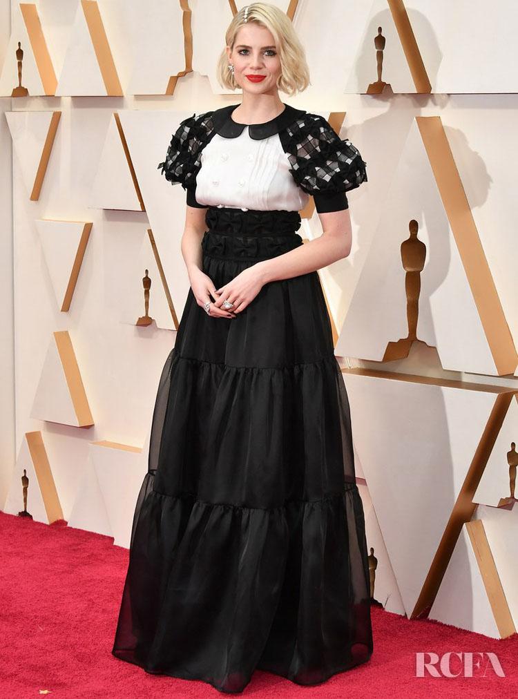 Lucy Boynton In Chanel - 2020 Oscars