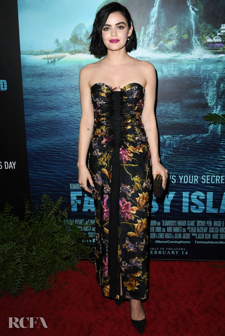 Lucy Hale Wore Jason Wu To The 'Blumhouse's Fantasy Island' LA Premiere