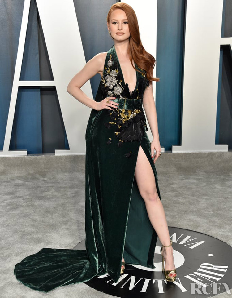 Madelaine Petsch in Elie Saab Couture -  2020 Vanity Fair Oscar Party