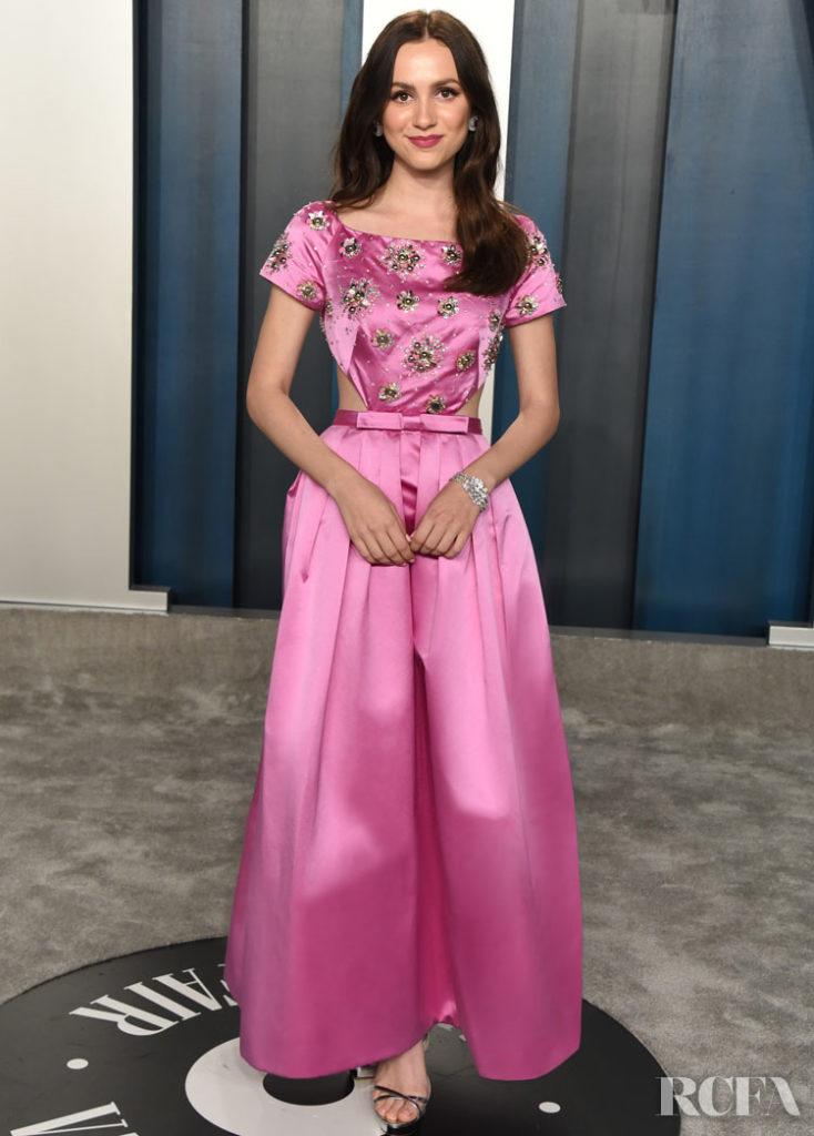 Maude Apatow in Miu Miu - 2020 Vanity Fair Oscar Party