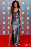 Naomie Harris In Michael Kors Collection - 2020 BAFTAs