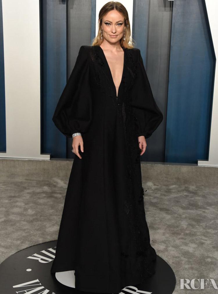 Olivia Wilde Fendi Couture The 2020 Vanity Fair Oscar Party