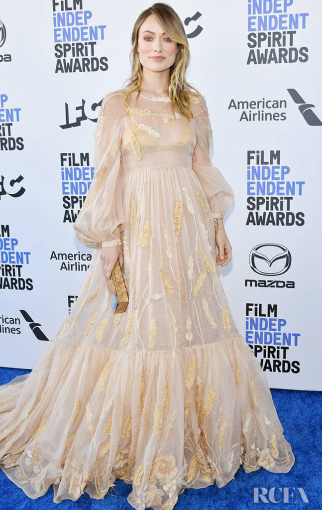 Olivia Wilde In Fendi Couture - 2020 Film Independent Spirit Awards