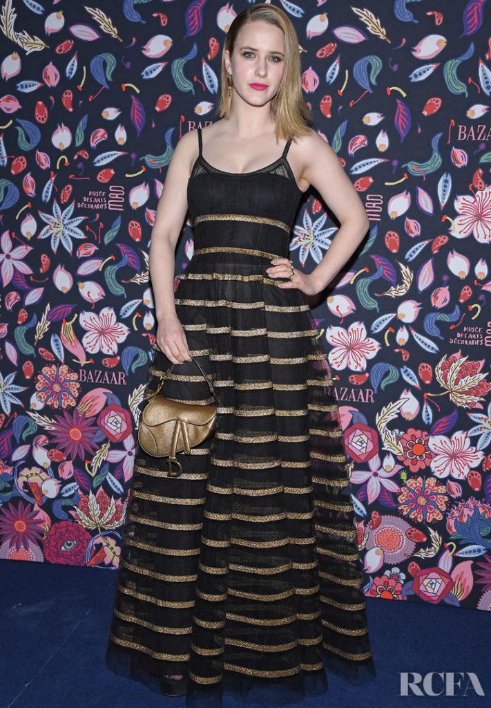 Rachel Brosnahan Christian Dior @ The Harper's Bazaar Exhibition