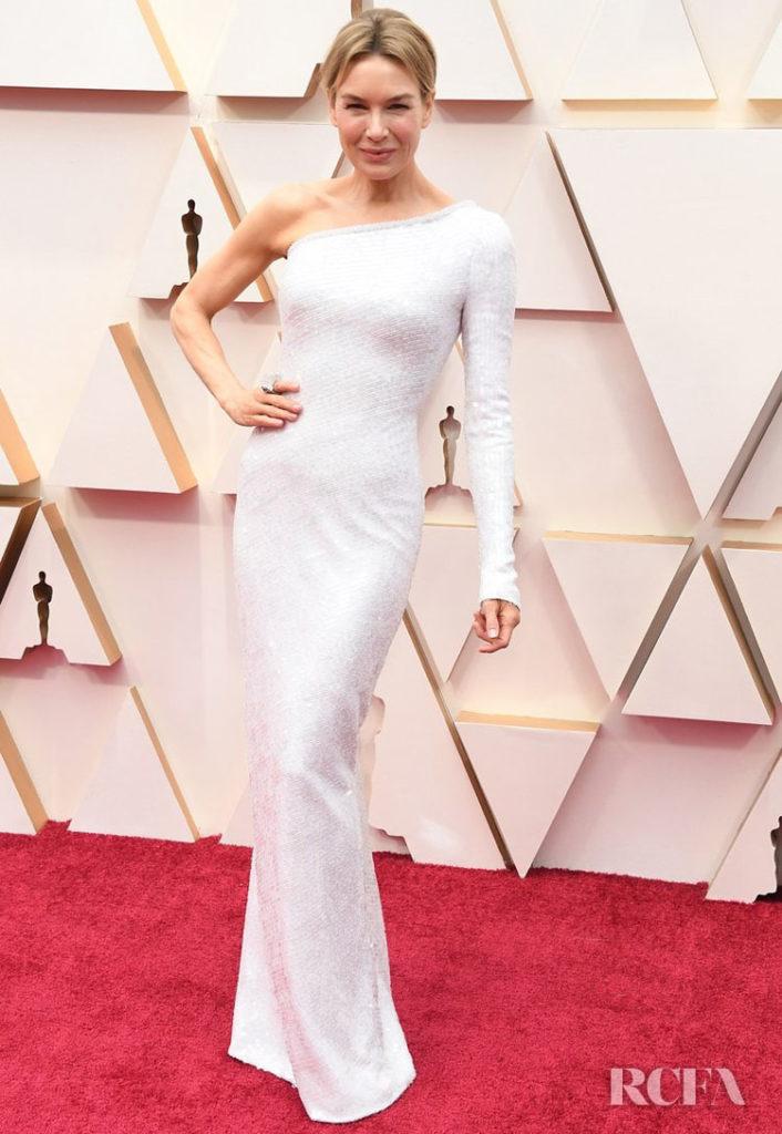 Renee Zellweger In Armani Prive - 2020 Oscars