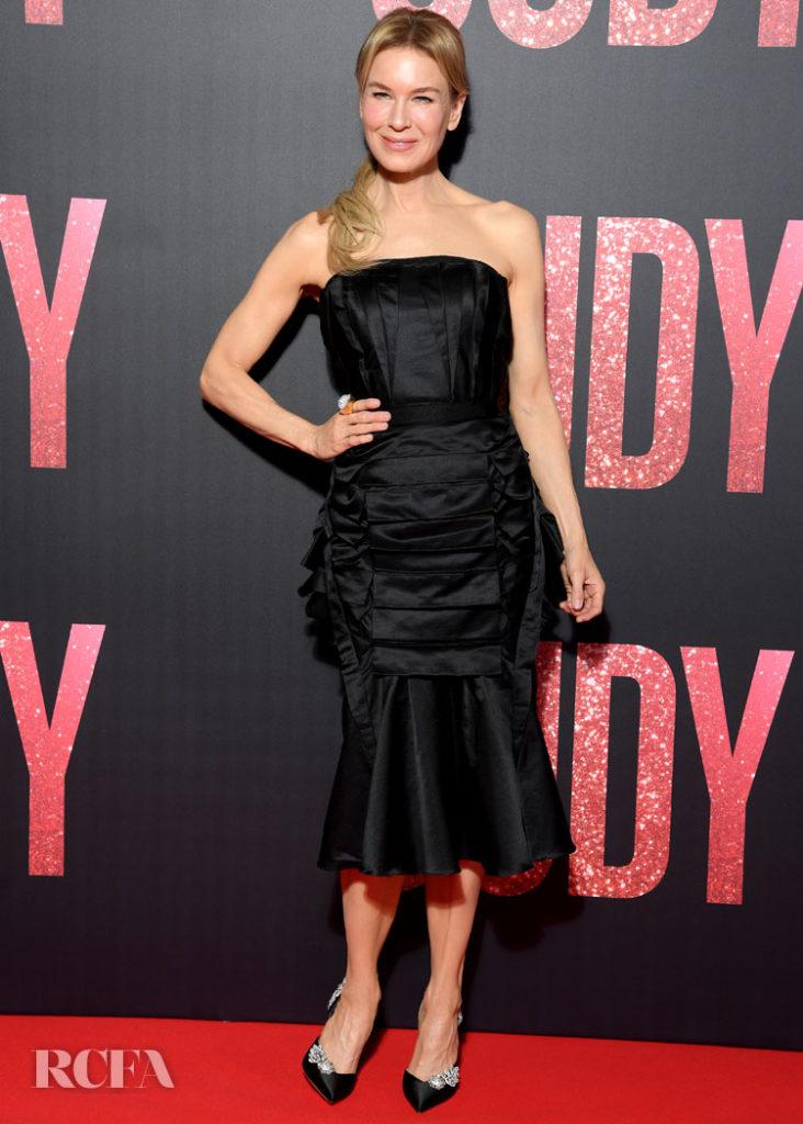 Renée Zellweger Wore Olivier Theyskens To The 'Judy' Paris Premiere