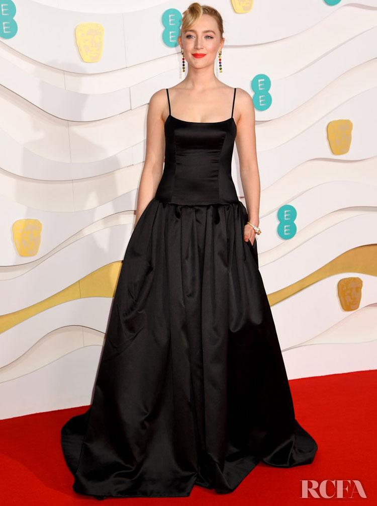 Saoirse Ronan In Gucci - 2020 BAFTAs