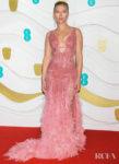 Scarlett Johansson In Atelier Versace - 2020 BAFTAs