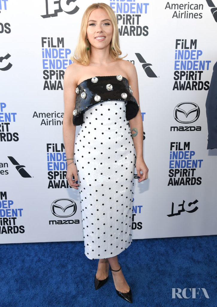 Scarlett Johansson In Balmain - 2020 Film Independent Spirit Awards