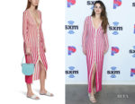 Selena Gomez's Jacquemus Jacques Striped Knit Dress