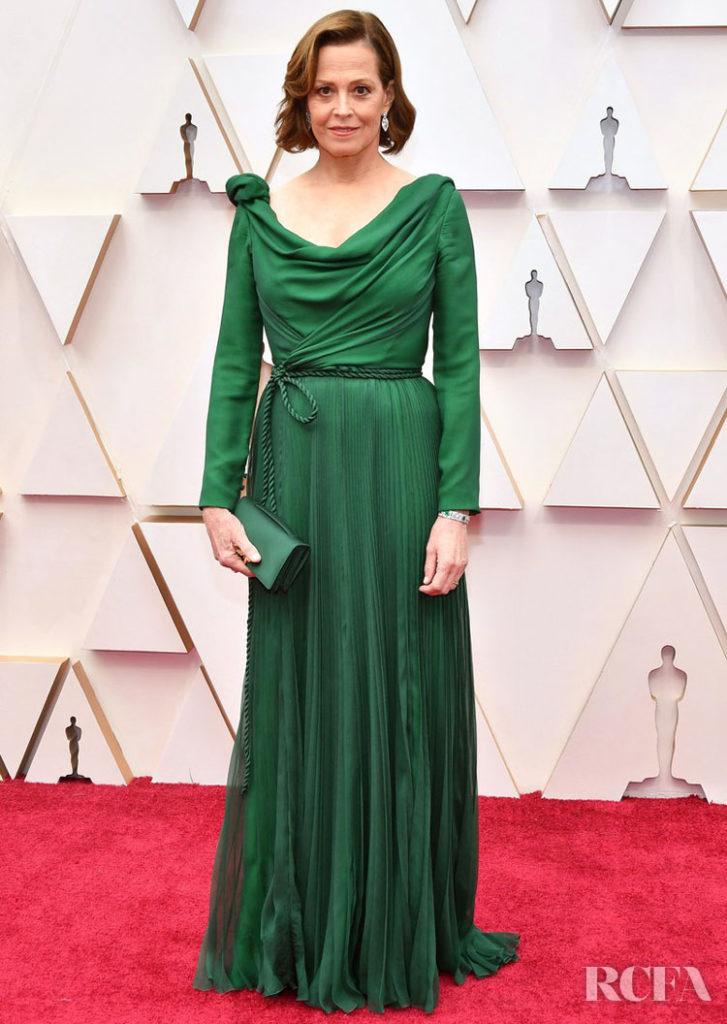 Sigourney Weaver In Christian Dior Haute Couture - 2020 Oscars