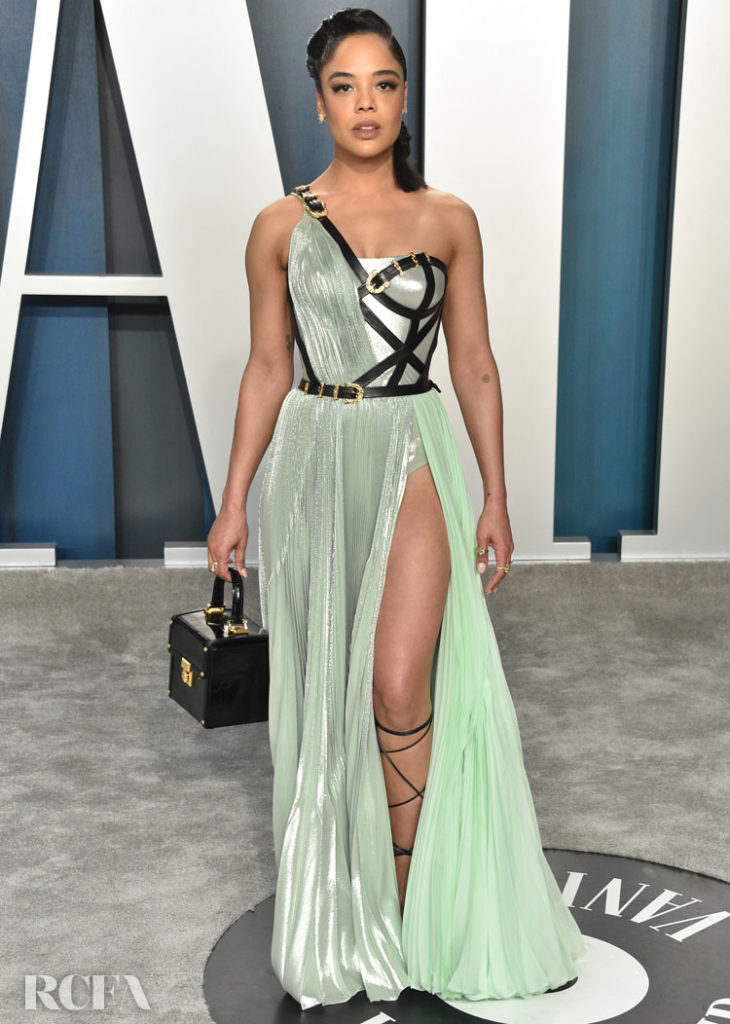 Tessa Thompson Atelier Versace - Atelier Versace @ The 2020 Vanity Fair Oscar Party