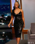 Tika Sumpter Wore SHO On Jimmy Kimmel Live!