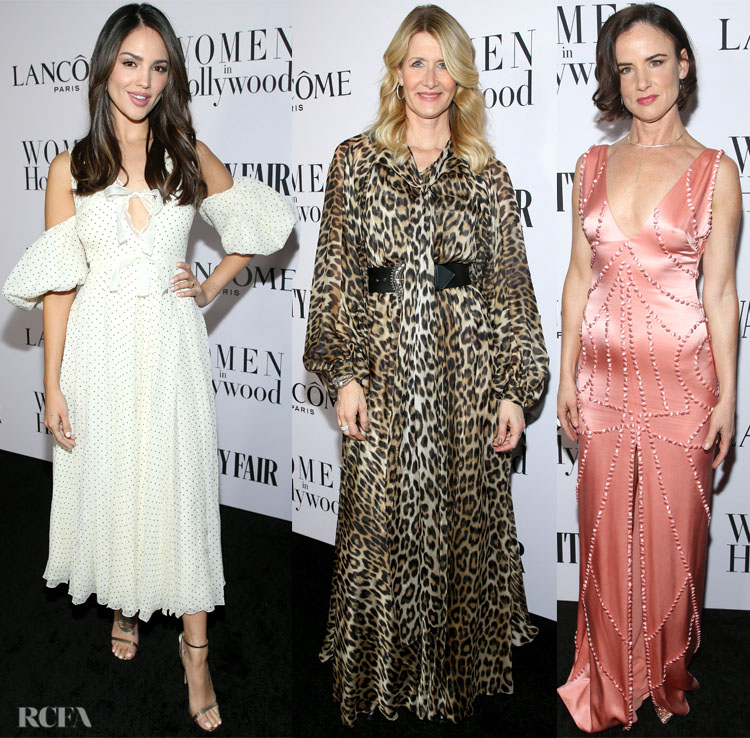 Vanity Fair And Lancôme Toast Women In Hollywood