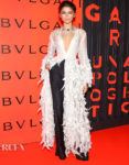 Zendaya Coleman Wore Rahul Mishra Haute Couture To The Bvlgari B.Zero1 Rock Party