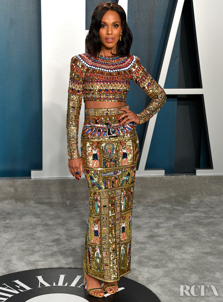 Kerry Washington In Zuhair Murad Couture 2020 Vanity