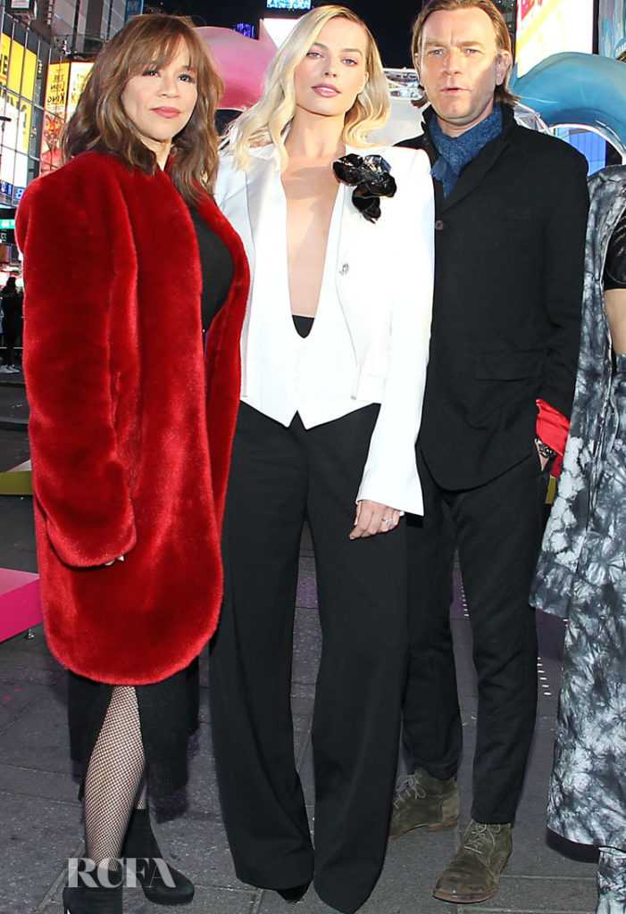 Margot Robbie in Alexandre Vauthier Spring 2020 - Birds of Prey New York Fan Screening