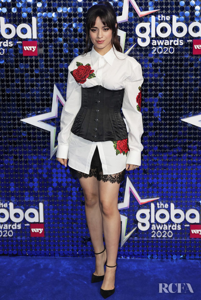 Camila Cabello Wore Dolce & Gabbana To The Global Awards 2020