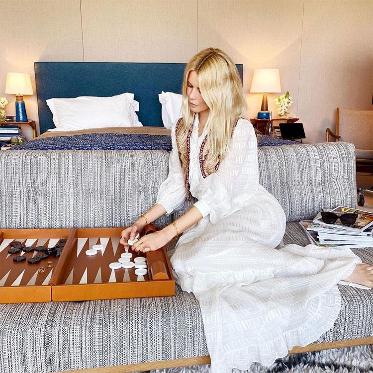 Claudia Schiffer Wore Etro On Instagram