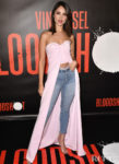 Eiza Gonzalez Wore Brandon Maxwell To The 'Bloodshot'  LA Photocall