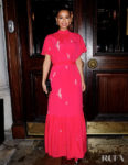 Gugu Mbatha-Raw Wore Erdem For Harper's Bazaar UK's International Women's Day Event