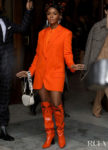 Janelle Monáe Front Row @ Stella McCartney Fall 2020
