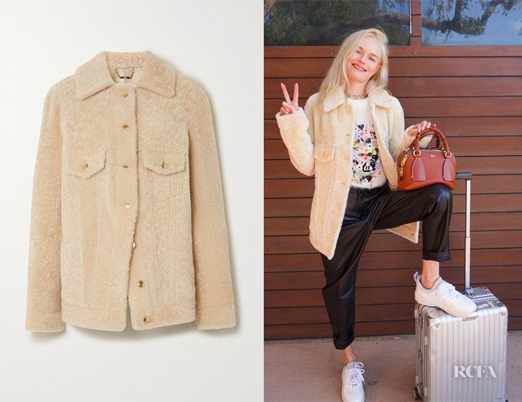 Kate Bosworth's Chloe Shearling Jacket