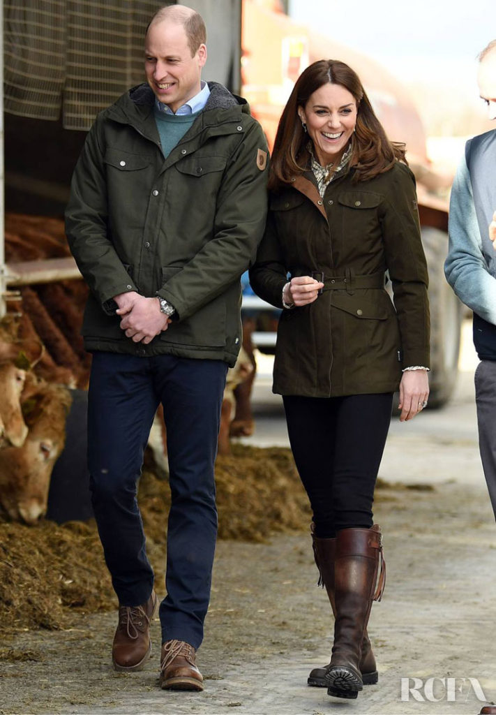 Kate Middleton in Dubarry jacket On Day Two & Three Of The Royal Ireland Tour