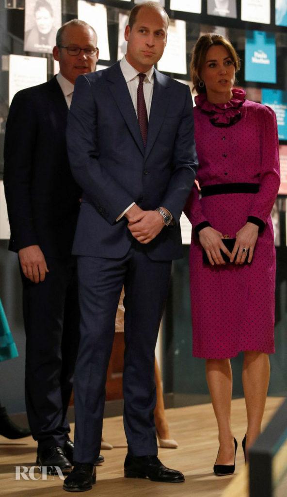 Kate Middleton in vintage Oscar de la Renta On Day Two & Three Of The Royal Ireland Tour